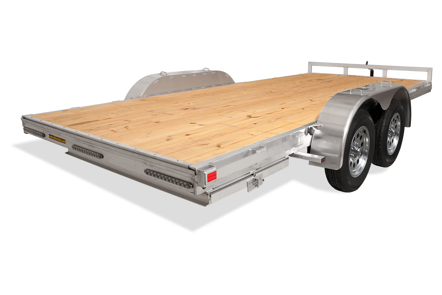 H&H Trailers | Aluminum Heavy Duty Flatbed - H&H Trailers